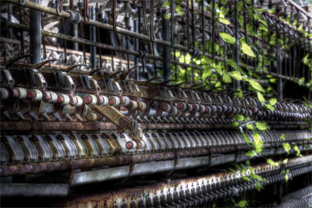 Lieux abandonnés - la filature Badin à Barentin - le doigt cassé