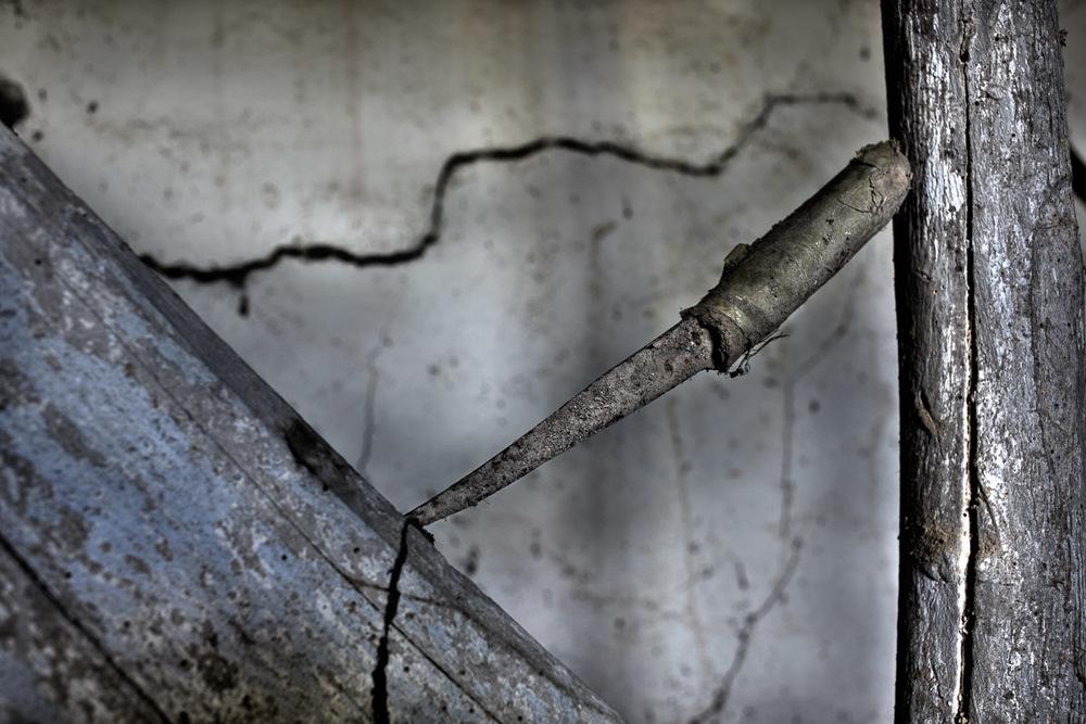 Lieux abandonnés - Cabane de pêcheur - le couteau