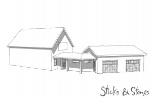 SketchUp Addition Drawing
