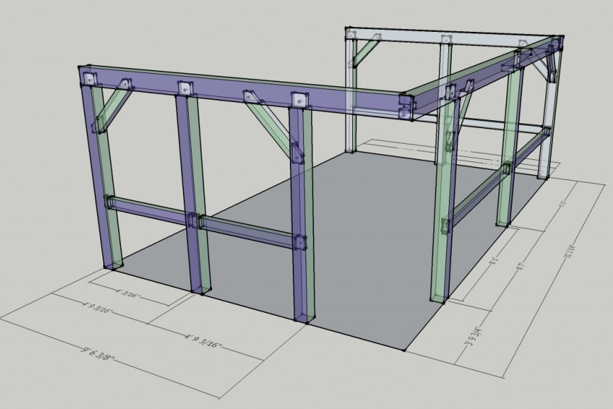 SketchUp Design Porch