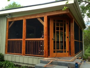 porch screened in
