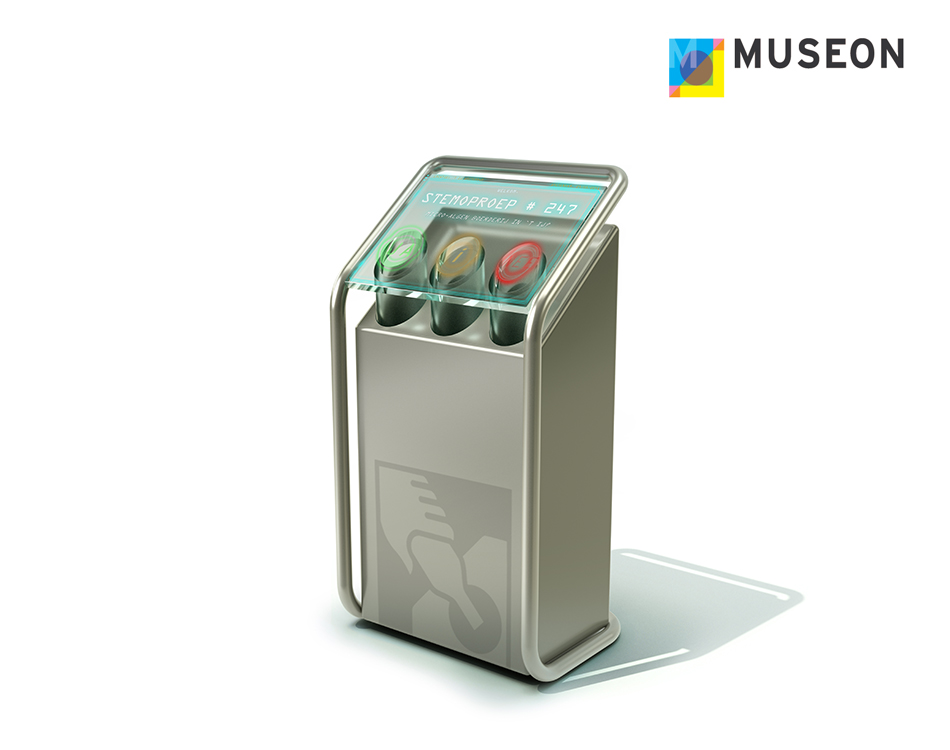 Waarmakers product and industrial design 3d CAD Poll Voting Glass Recycling Machine 2.1.jpg
