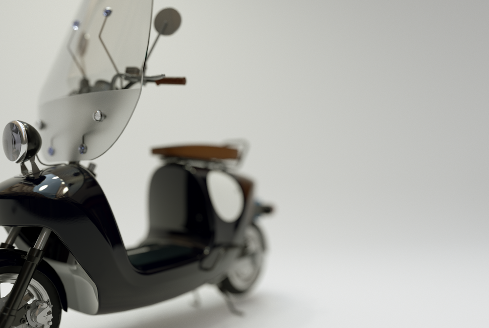 Be.e-frameless-biocomposite-electric-scooter-design-by-waarmakers-sideview black close-up front.png