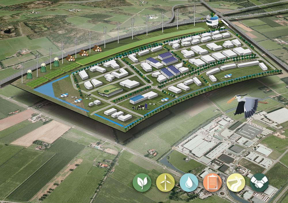 Haaksbergen 2030 - envisioning a circular business park