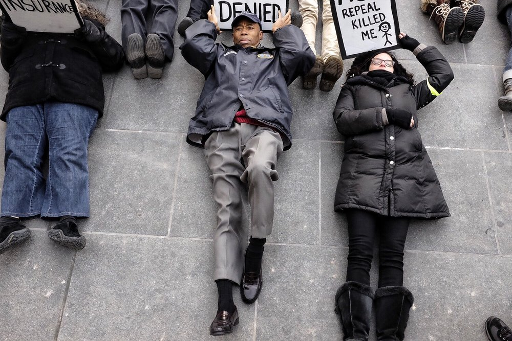 Die-In for ACA: March 11th, 2017