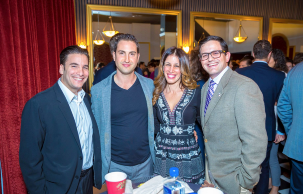 TEMPLE OF THE ARTS BOARD OF DIRECTORS MEMBER ARI RYAN WITH FRIENDS