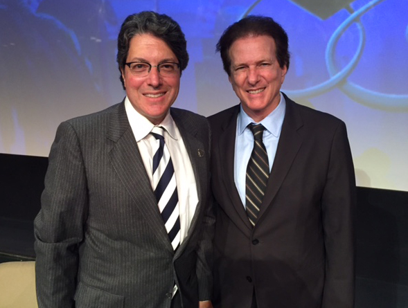 Newly installed bev hills mayor John mirisch.  One of his first events will be attending our shared heritage of freedom Shabbat