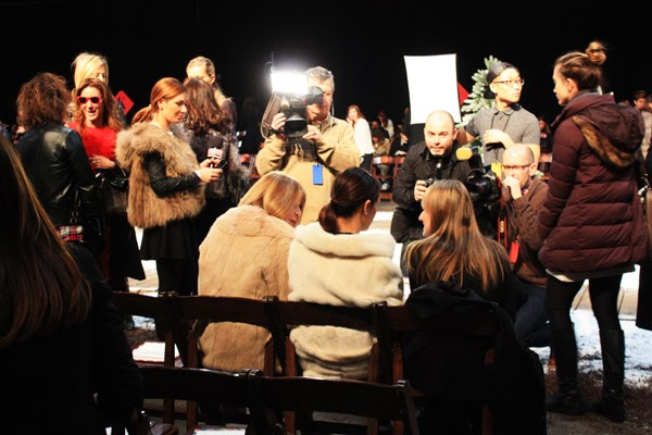Anna Wintour Tommy Hilfiger Front Row NYFW FW 2014