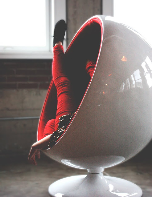 STL Fashion Brittany Browers Mid-Century Danish Modern St. Louis Chair Plush STL