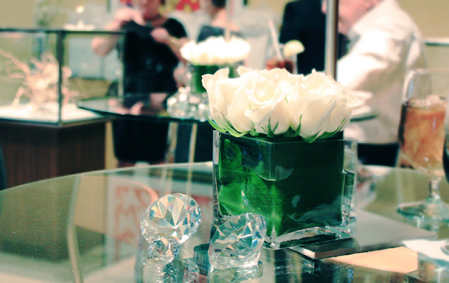 St. Louis blogger at Neiman Marcus Forevermark Diamonds Maria canale
