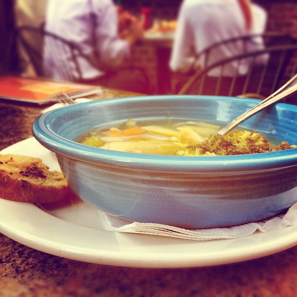 St Louis' Best Vegan Vegetable Soup Square One Brewery