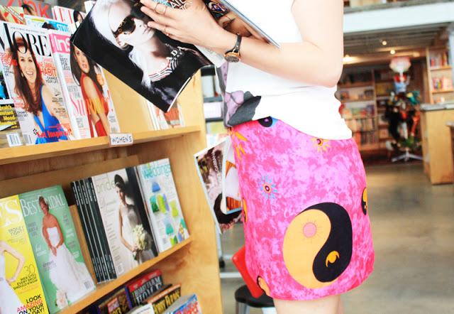 Ying Yang Skirt Yin & Yang