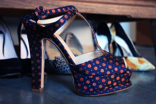 Printed Platform Sandals by Zara by St. Louis Fashion Blogger