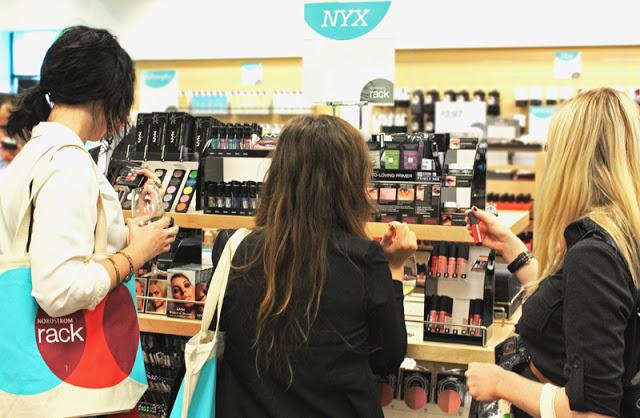 NYX Cosmetics Xtreme Lip Creme Nordstrom Rack Manchester Highlands StL St. Louis Saint Makeup Make up Beauty Fashion Style Blogger Lindsay Pattan
