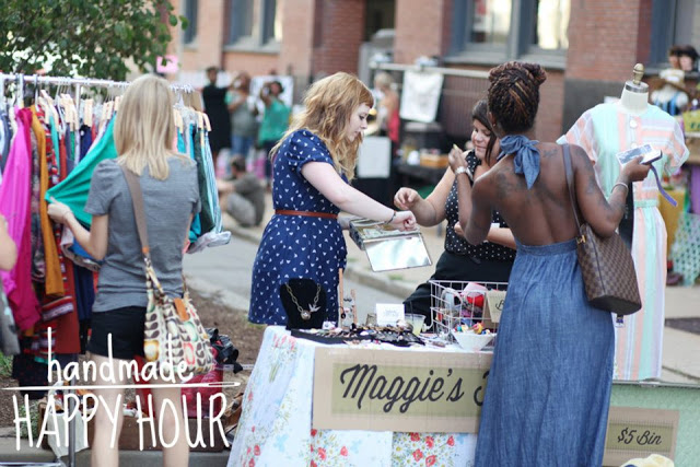 Handmade Happy Hour Buy Local STL St. Louis Maggie's Farm Vintage