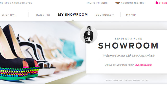 ShoeDazzle Showroom