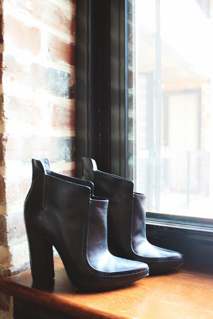 Alexander Wang Black Booties fashion blog st louis mo
