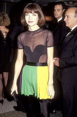 Young Anna Wintour Pictures