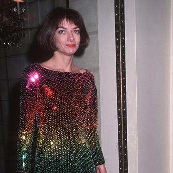 Younger Anna Wintour Sequin Dress