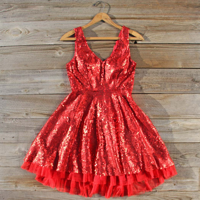 NYE Glitter Party Dress STL New Year's Eve Shopping St. Louise