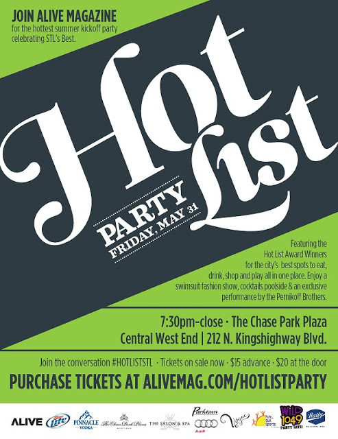ALIVE Magazine Best of St. Louis Hot List Party