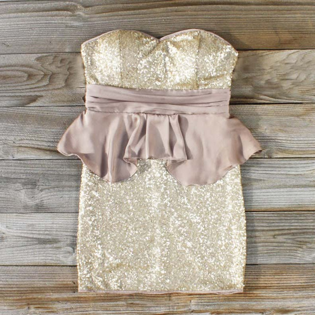 The Perfect NYE Glitter Sequin Party Dress - How to wear - St Louis Shopping - Spool no 72