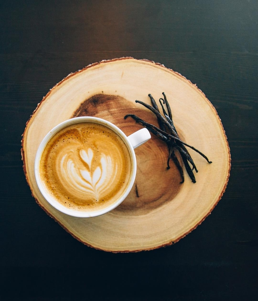 We make all of our vanilla & caramel sauces in-house, and they compliment our espresso deliciously in an iced or hot latte.#patchcoffee   #goodtogether    #co mmunity