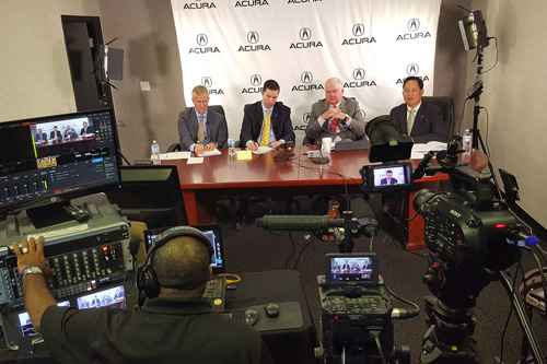 Executive team Dealership live streaming meeting - Acura