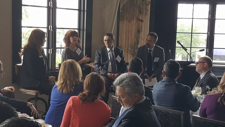 BANK OF AMERICA SMALL BUSINESS OWNER LUNCHEON AND NETWORKING PRESENTATION SPONSORED BY BURSON-MARSTELLER