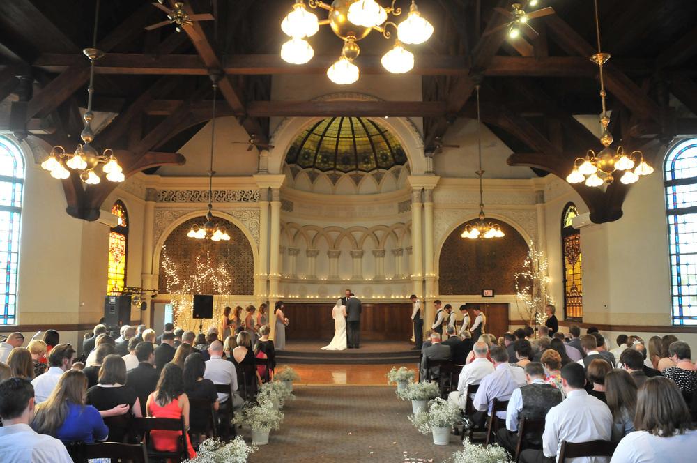 Cornerstone Building Peoria IL wedding photography