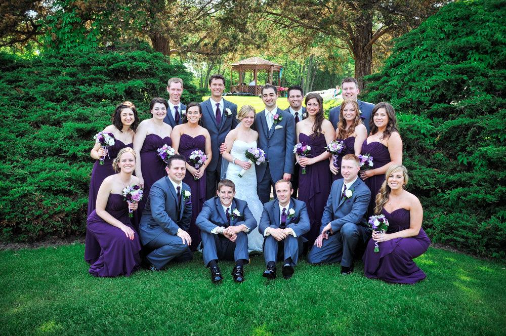 bridal party birdhaven greenhouse joliet il