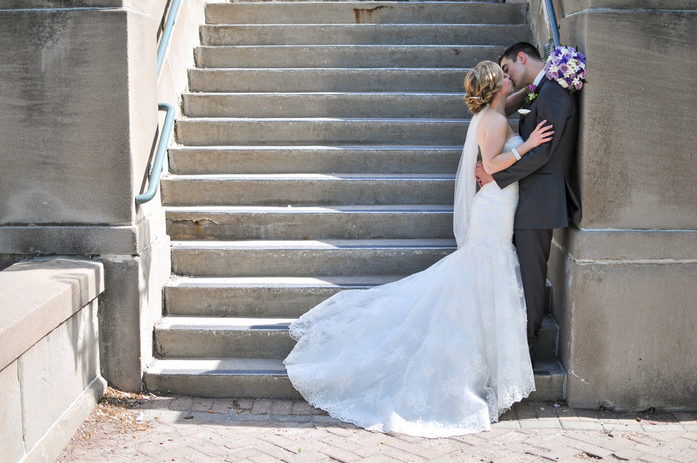 Joliet Union Station wedding pictures