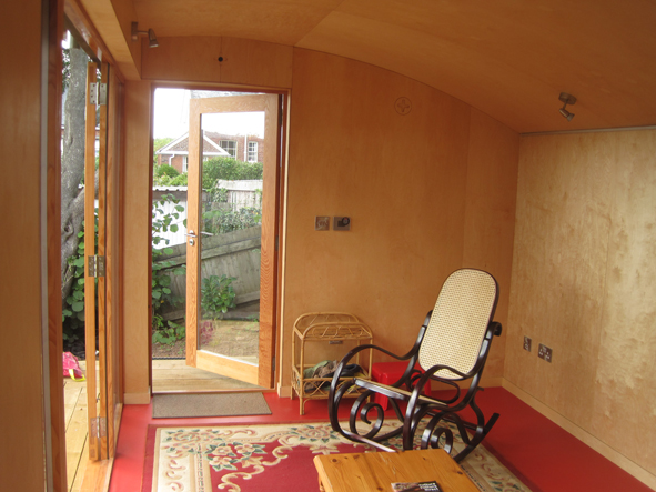 Garden Room   Birch Ply I Nterior