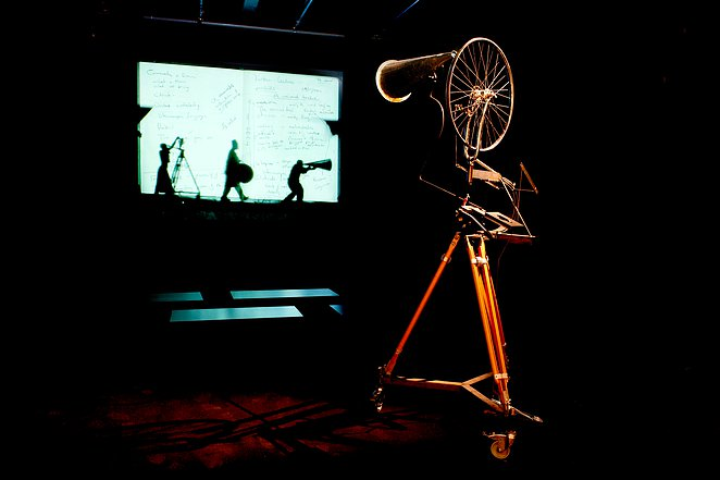 THE NEGATION OF TIME, PROLOGUE. William Kentridge + David Edwards