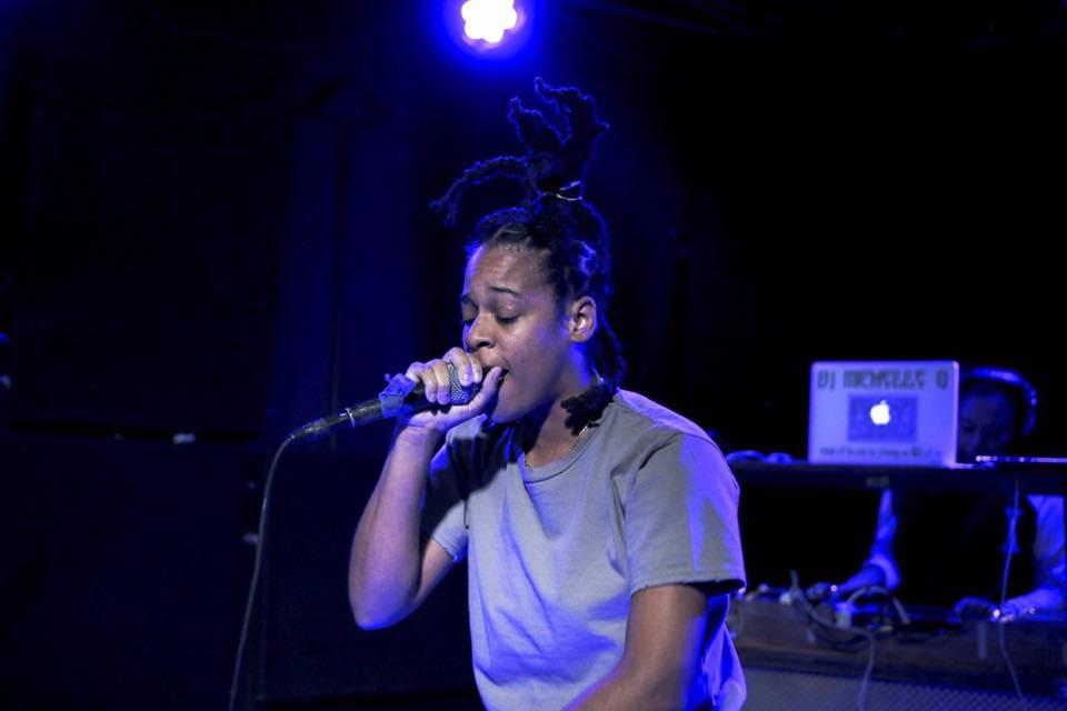 """""""Verbal Warning"""" Live at Friends & Lovers BK (10/5/16) Photo: Matt O via Upcoming Hip Hop"""