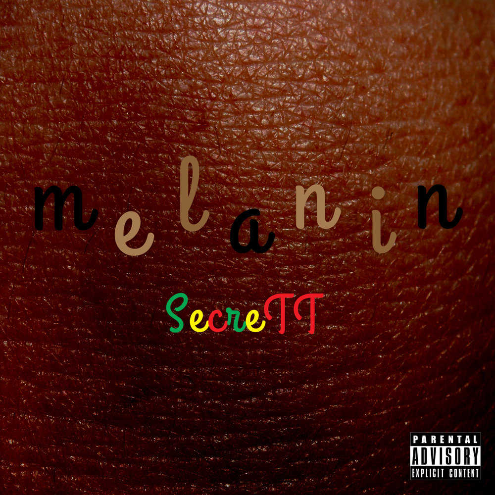 "Click ""Melanin"" cover art to download on iTunes"