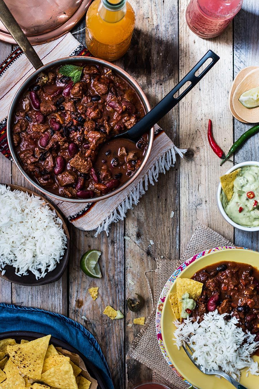 Chili con carne by Laura Domingo