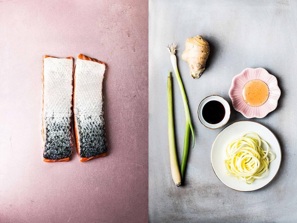 Teriyaki salmon by Laura Domingo