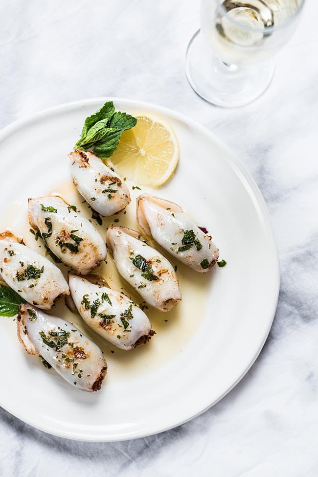 Stuffed squids by Laura Domingo