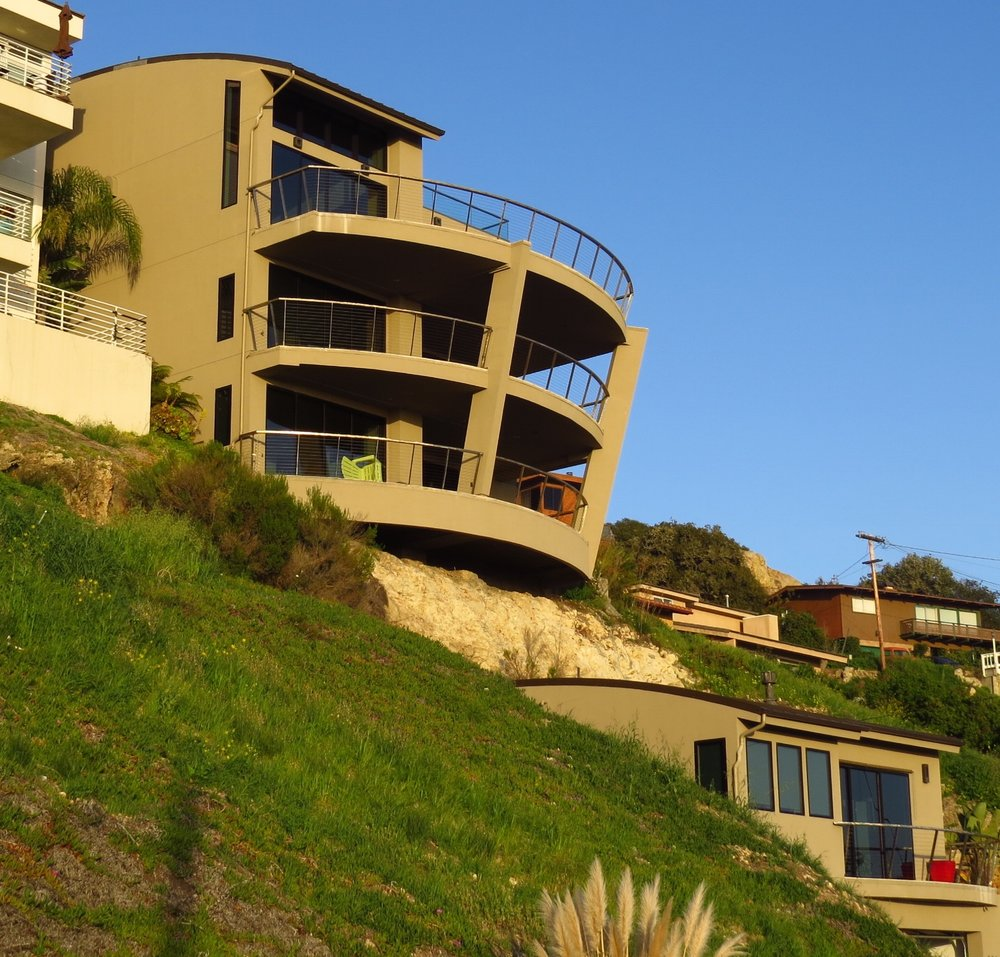 New Residence in Pismo Beach, CA. Modern style architecture.