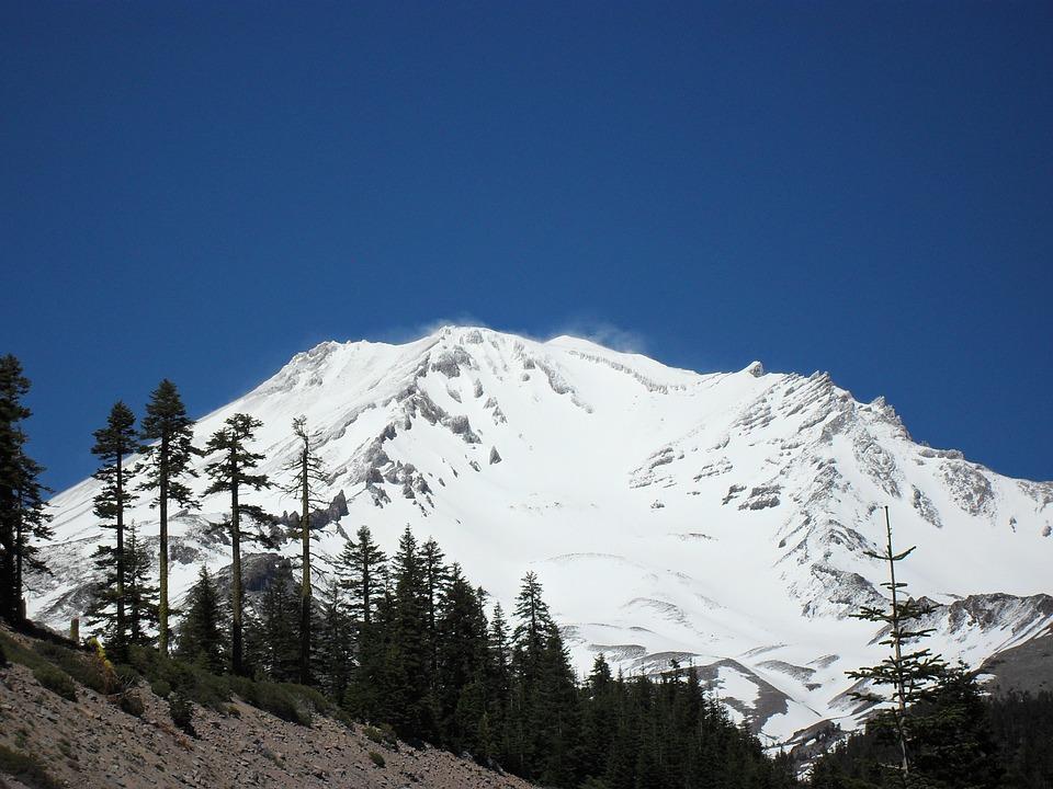 Monte Shasta - Coronário do Planeta