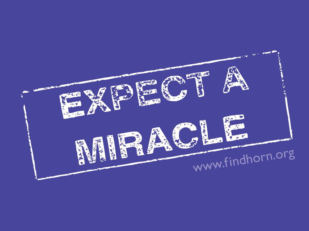 Acredite nos Milagres. Eles existem. -