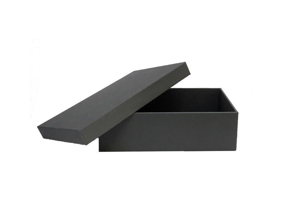 Lid and tray box -