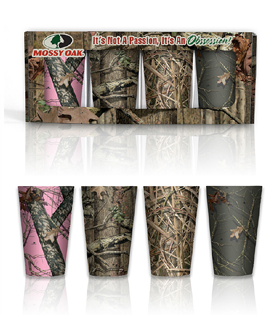 Mossy Oak®  Melamine Pint Glass Collector Set