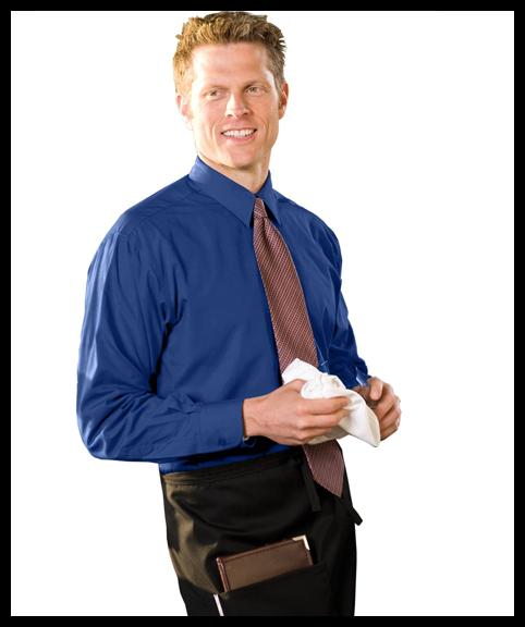 Long Sleeve Shirt & Half Bistro Apron