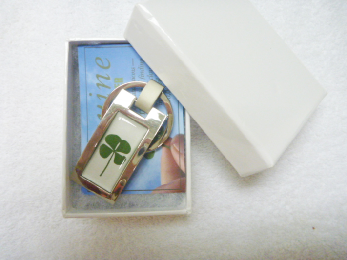Rectangle Key Chain in Gift Box