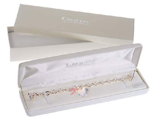 2. Swarovski Crystal Charm Bracelet