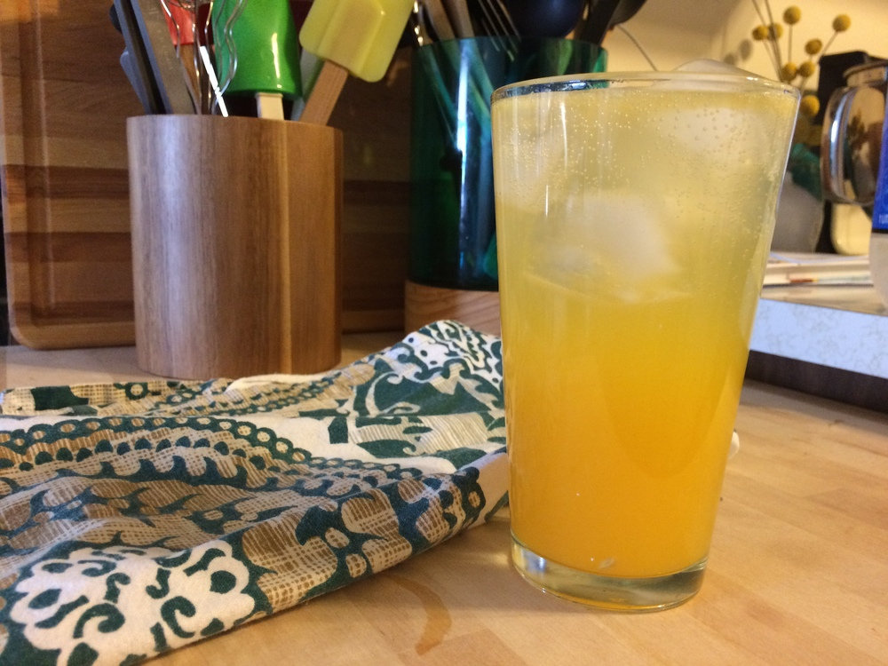 Refreshing Citrus + Club Soda