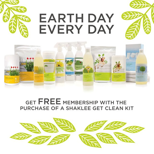 Earth Day // Shaklee Get Clean // brianakapper.com