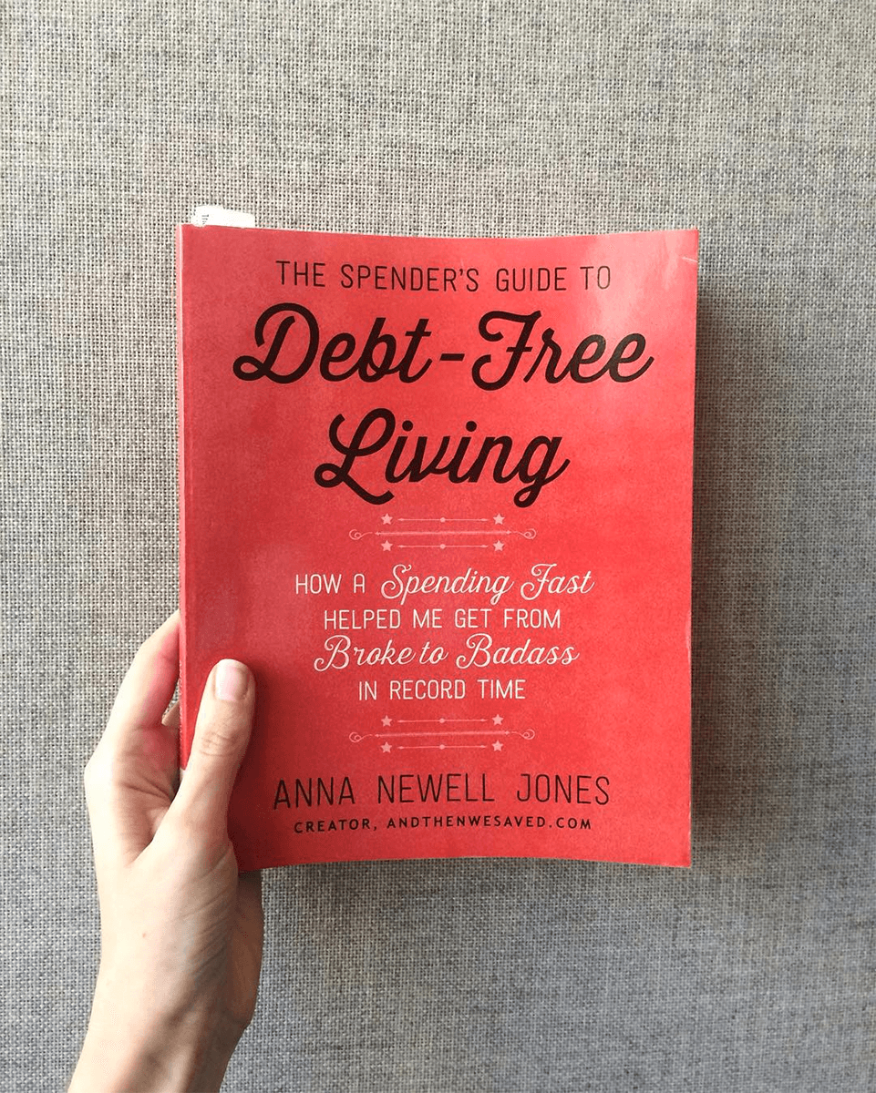 Spending freeze! The Spender's Guide to Debt-Free Living